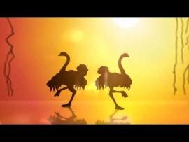 "Embedded thumbnail for ""Весёлые животные: павлин"" мастер-класс"